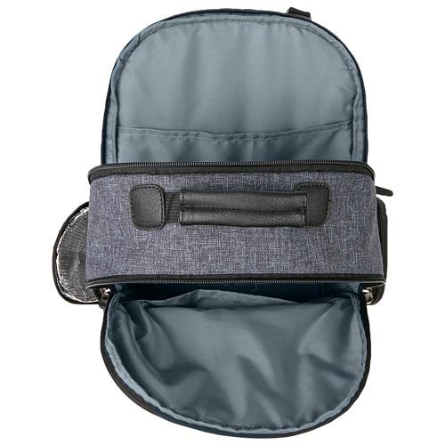 f3c47444ba Eddie Bauer Bridgeport Backpack Diaper Bag - Grey Denim