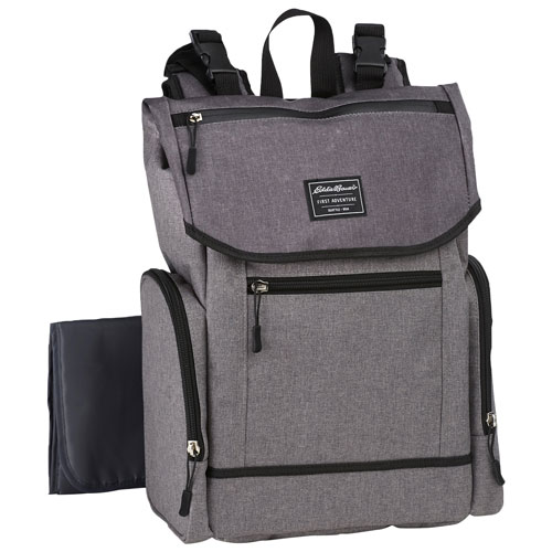 a7b7b2be140c Eddie Bauer Echo Bay Backpack Diaper Bag - Grey