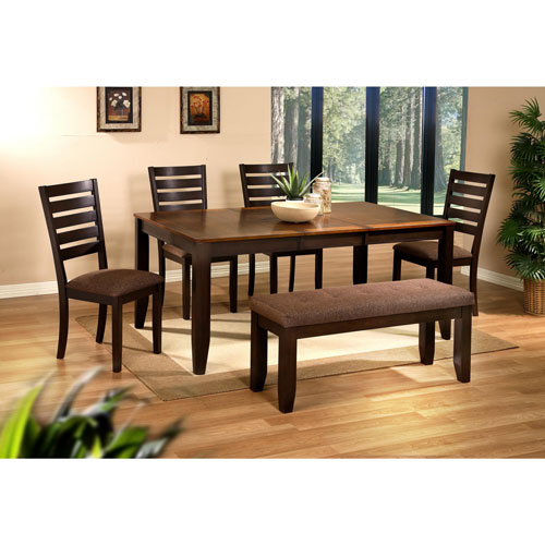 My Best Buy Dining: Berkshires Traditional 6-Seating Rectangular Casual Dining