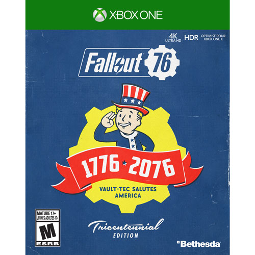 Fallout 76 Tricentennial Edition Xbox One Xbox One Games Best
