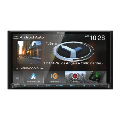 Best Buy Auto Center >> Kenwood Dnx875s 7 In Dash Double Din Dvd Receiver With Built In Navigation Wireless Android Auto Apple Carplay