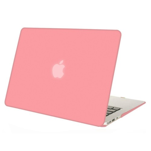 wholesale dealer b576b bf73e Mosiso Plastic Hard Case Cover for MacBook Air 13 Inch (Models: A1369 and  A1466), Pink
