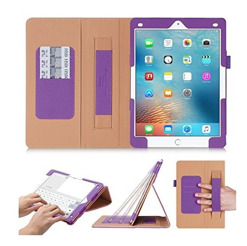 online store 10d71 778c7 iPad Pro 9.7 Case, iPad Pro 9.7 Cover, fyy [Super Functional Series]  Premium PU Leather Case Stand Cover with Card Slots, Note