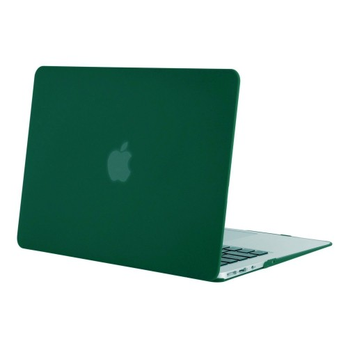 the latest dafd6 cce3c Mosiso Plastic Hard Case Cover for MacBook Air 13 Inch (Models: A1369 and  A1466), Dark Green