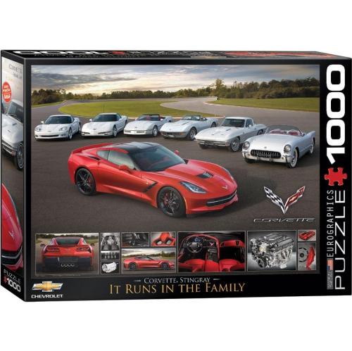 2014 Corvette Stingray It Runs in the Family 1000-Piece Puzzle   Puzzles -  Best Buy Canada be213c8033c36