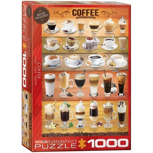 Coffee 1000-Piece Puzzle