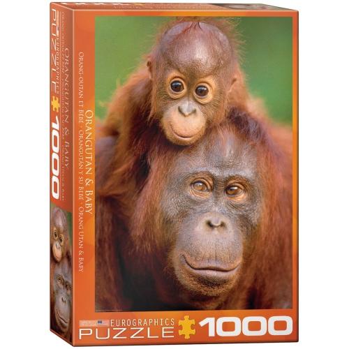 Orangutan & Ba 1000-Piece Puzzle