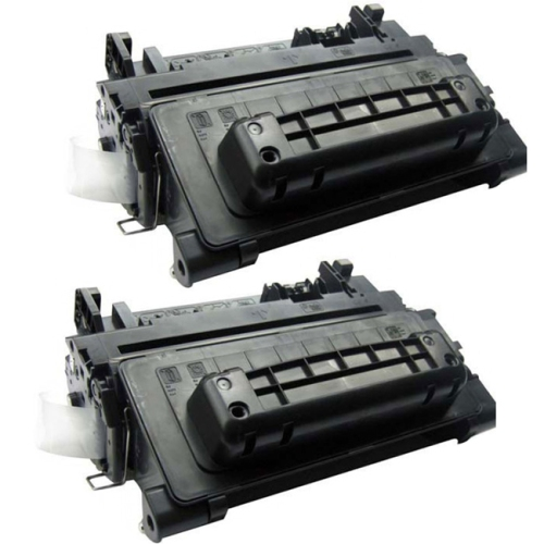 Compatible HP 90A CE390A x 2/pack High Yield Laser Toner Cartridge for use in Enterprise 600 M601, M602, M603, M4555 MFP