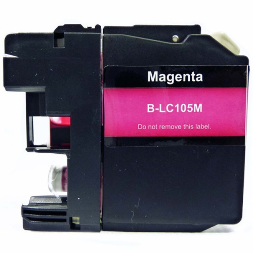 Compatible Refurbished Brother LC105M Magenta Ink Cartridge High Yield