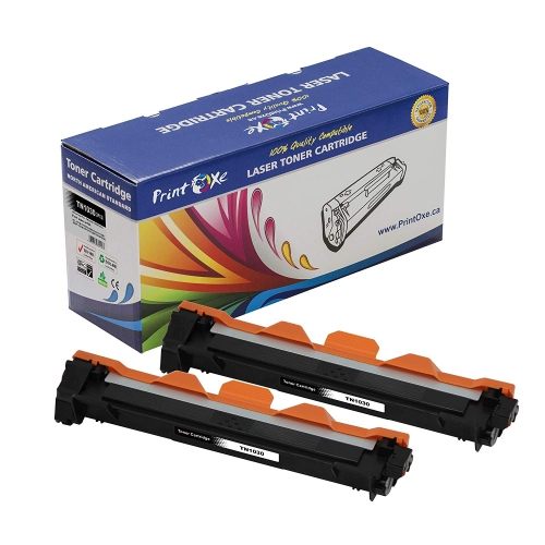 PrintOxe™ Compatible 2 Toners for TN 1030 Universal TN1000 for TN1030 / 1000 / 1070 for Use in Brother Printers HL - 1110 / 11