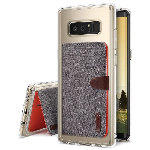 purchase cheap 3db93 85cb1 Ringke Fitted Hard Shell Case for Samsung Galaxy Note 8 - Clear