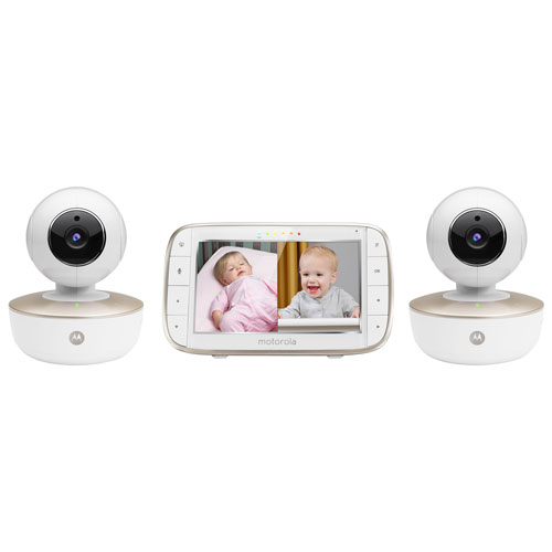 """Motorola 5"""" Video Wi-Fi Baby Monitor with Zoom/Pan/Tilt (MBP855CONNECT-2)"""