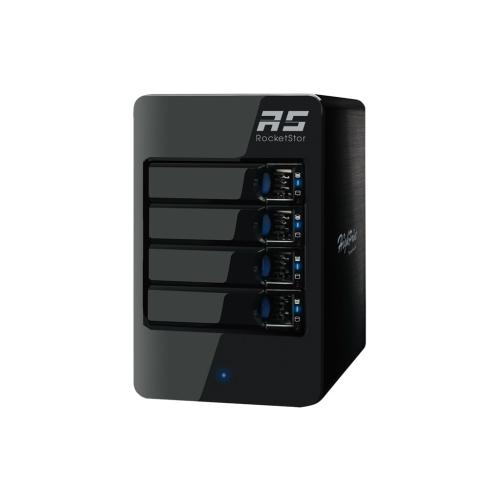 HighPoint Removable Device RocketStor 6114V 4Bay RAID USB 3.1Gen 2 Enclosure