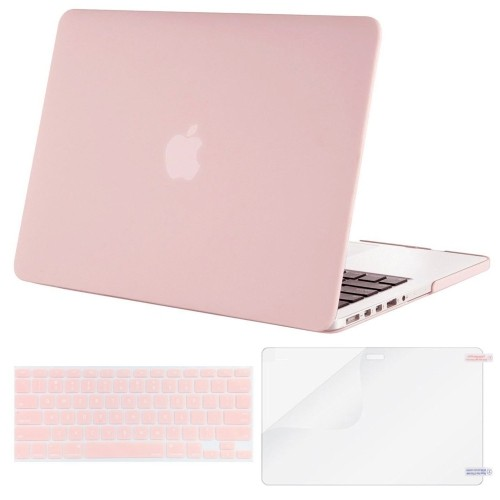 wholesale dealer 9eb95 98584 Mosiso Plastic Hard Case with Keyboard Cover with Screen Protector for  Macbook Pro Retina 15 Inch (Model: A1398) No CD-ROM, R