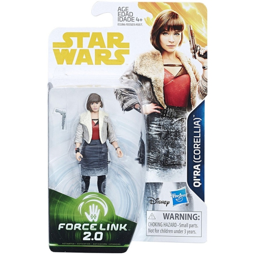 Star Wars Universe Force Link 2.0 3.75 Inch Action Figure Series 2 - Qi'Ra Corellia