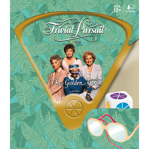 trivial pursuit the golden girls card game english card games