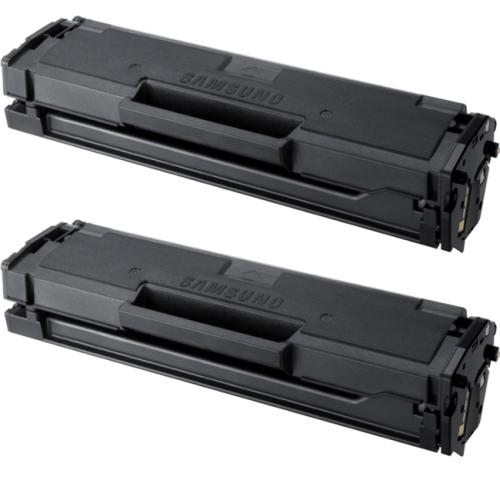 Generic Samsung MLT-D101S x 2/pack New Black Laser Toner Cartridge for use in ML-2160, ML-2165, SCX-3400, SCX-3405, SF-760