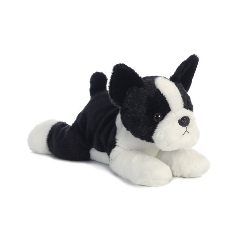 Buster Boston Terrier Dog 12 Flopsie Stuffed Animal Plush Toys
