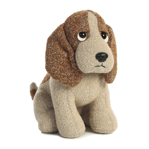 Bently Basset Hound Dog Fabbies 11 Stuffed Animal Plush Toys