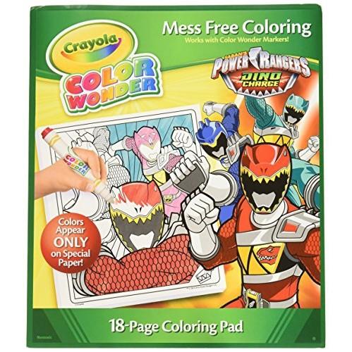 Crayola Color Wonder Coloring Pad, Power Rangers (75-0253 ...