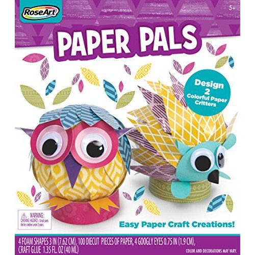 Roseart Paper Pals Eady Paper Craft Creations Jewelry Beading