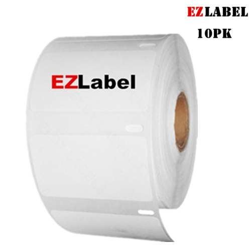 "10 Roll Multipurpose Labels 2-1//4/"" x 1-1//4/"" for Dymo 30334 1000 Labels Per Roll"