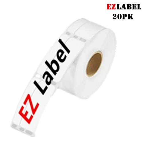 20 Rolls EZlabel DYMO 30321 Compatible LabelWriter Address Labels, White,  1-4/10