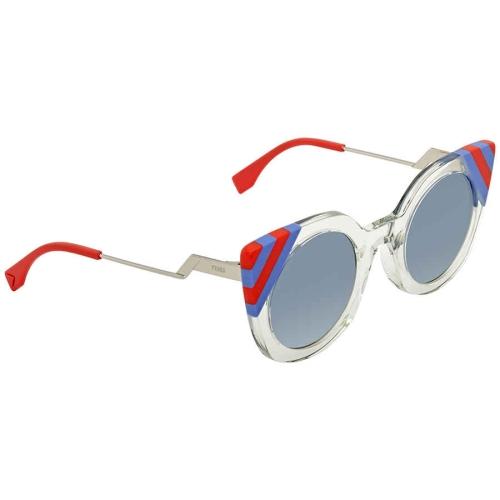 c1bf88f1dd Fendi Blue Gradient Cat Eye Sunglasses FF 0240 S 1ED UY 47   Sunglasses -  Best Buy Canada