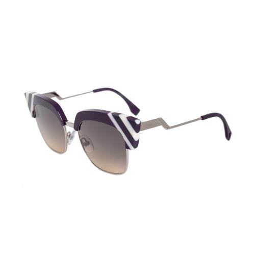 6ca7a19e926 Fendi Waves Grey-Yellow Gradient Square Sunglasses FF 0241 S B3V GA 50    Sunglasses - Best Buy Canada