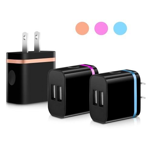 segmoi 5v 2 0amp us plug dual usb port 2 ports travel wall charger rh bestbuy ca