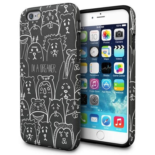 iphone 6s case, toru [iphone 6s design case] protective dual layer