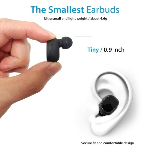1400a6d629d Photive TWS-01 True Wireless Earbuds Stereo Bluetooth Headphones with Charging  Case. Premium Sound - Secure Fit - Easy to Pair | Best Buy Canada