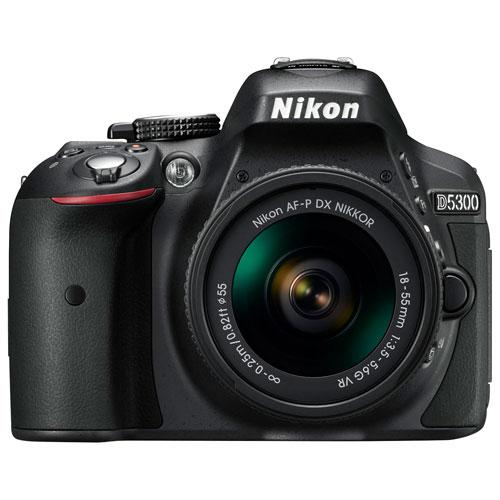 nikon d5300 dslr camera with 18-55mm vr lens kit : dslr kits - best ...