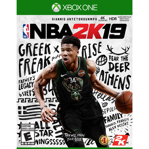 7eaef4739e NBA 2K19 (Xbox One)   Xbox One Games - Best Buy Canada