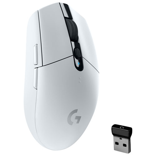 Logitech G305 12000 DPI Wireless Optical Gaming Mouse - White