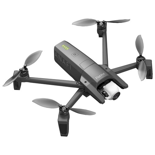 Parrot ANAFI Quadcopter Drone with Camera & Controller - Black - Only at  Best Buy