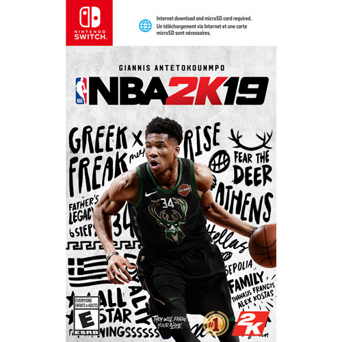 35554095c NBA 2K19 (Switch)   Nintendo Switch Games - Best Buy Canada