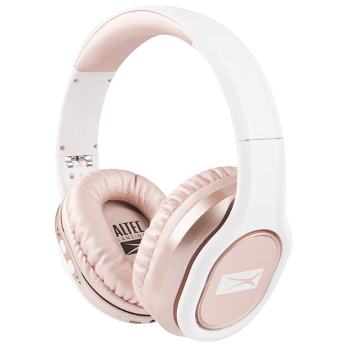 4d106f67227 Altec Lansing Evolution 2 Over-Ear Bluetooth Headphones - Rose Gold | Best  Buy Canada