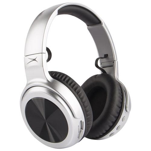 b1acb295cd1 Altec Lansing Rumble Over-Ear Bluetooth Headphones - Grey | Best Buy Canada