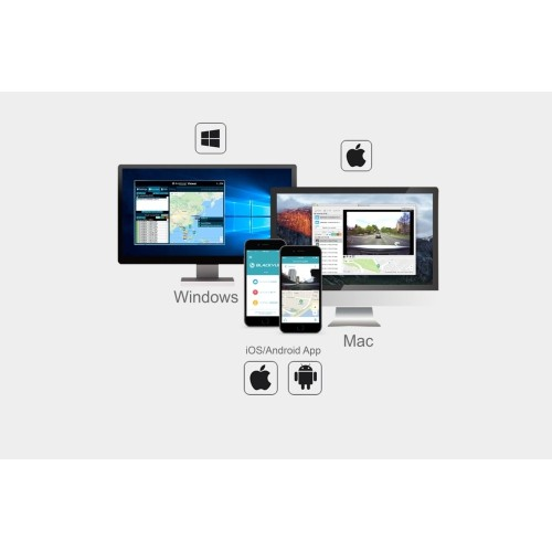 Blackvue DR750S-1CH 16GB Dash Cam Wifi, GPS, Cloud  IOS app Android App