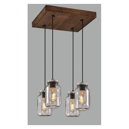 Pendant Light Glass Cluster Hanging Ceiling Light Lamp Kitchen And