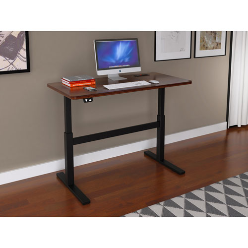 Z Line Designs Ergonomic Standing Desk Espresso Desks