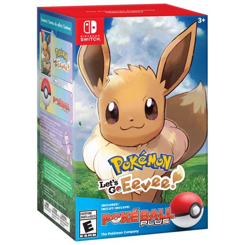 e506a5cf34c Pokémon Let's Go, Eevee! with Poké Ball Plus (Switch)   Best Buy Canada