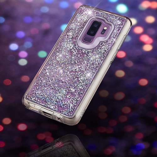 f77ba276e Case-Mate - Samsung Galaxy S9+ Case - Waterfall - Cascading Liquid Glitter  - Protective Design - Iridescent