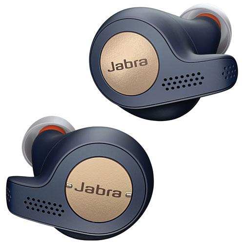 Écouteurs boutons 100 % sans fil Elite Active 65t de Jabra - Bleu cuivré