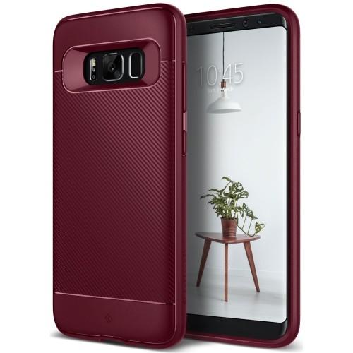 finest selection 874d4 ffc8b Galaxy S8 Case, Caseology [Vault II Series] Slim Protective Shock Absorbing  TPU Textured Grip Corner Cushion Design for Samsun