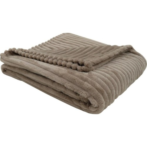 Throw 40 X 40 Beige Ultra Soft Ribbed Style Blankets Throws Adorable Best Soft Throw Blanket