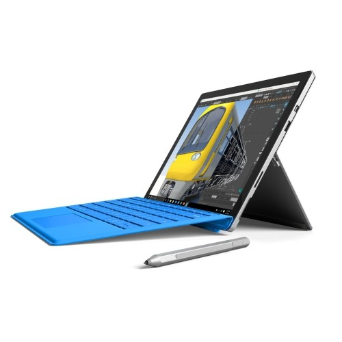 Microsoft Surface Pro 4 12 3 512gb Windows 10 Tablet With Intel Core I7 6650u 2 2 Ghz Silver Refurbished Best Buy Canada