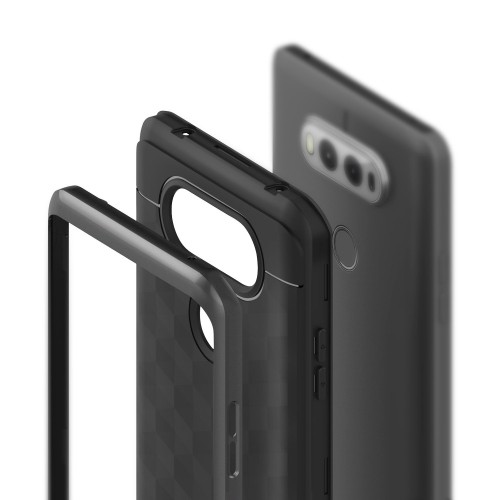 the latest df529 8ea8d LG V20 Case, Caseology [Parallax Series] Slim Dual Layer Protective  Textured Geometric Cover Corner Cushion Design for LG V20