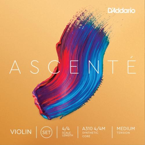 D'Addario A310 Ascente Violin String Set - 4/4, Medium